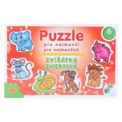 Obrázek Puzzle pro nejmenší - Zvířátka