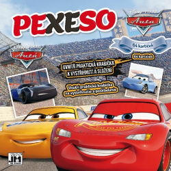 Obrázek Pexeso v sešitu CARS - Auta