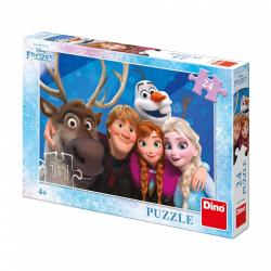 Obrázek Puzzle 24 dílků Frozen Selfie