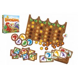 Obrázek Dinogang společenská hra v krabici 24x24x6cm
