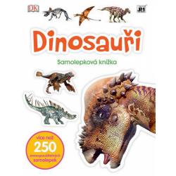 Obrázek knížka samolepková Dinosauři
