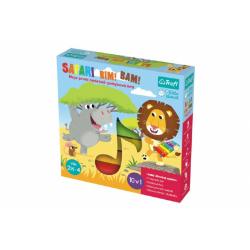 Obrázek Safari Bim! Bam! hudebně-pohybová hra 10v1 + velký dřevěný xylofon