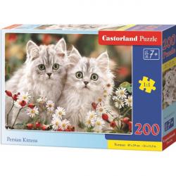 Obrázek Puzzle Castorland 200 dílků premium - Koťata perské kočky