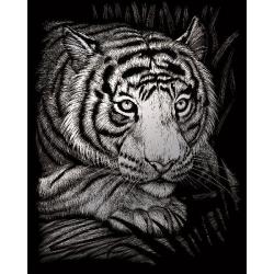Obrázek Vyškrabovací obrázek- Tygr - SILF*38