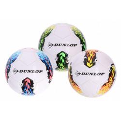 Obrázek Míč fotbalový Dunlop nafouknutý 20cm 3 barvy vel. 5 v sáčku