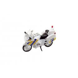 Obrázek Motorka Záchranáři 112 policie plast 12cm  český design