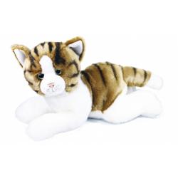 Obrázek plyšová kočka ležící, 50 cm