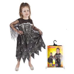 Obrázek karnevalový kostým čarodějnice/halloween, vel. S