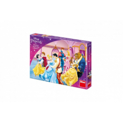 Obrázek Princezny Na plese společenská hra v krabici 33,5x23x3,5cm