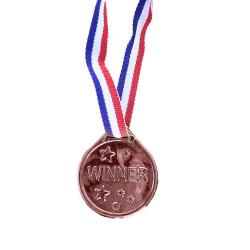 Obrázek Medaile bronzové 6 ks v sáčku