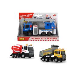 Obrázek Nákladní auto Scania City Builder 3 druhy - 3 druhy