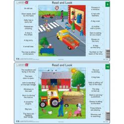 Obrázek Puzzle Angličtina - slovíčka RA5 16 dílků