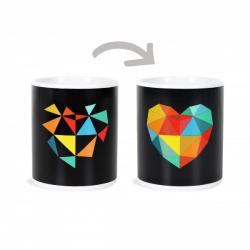Obrázek ALBI Měnící hrnek - Designové srdce