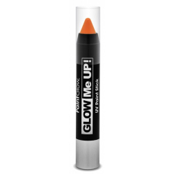 Obrázek Tužka na obličej UV neon 3,5 g oranžová (orange)