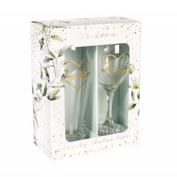 Obrázek ALBI Svatební set sklenice s půllitrem