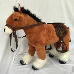 Obrázek Plyšový Kůň hnědý 25 cm