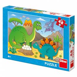 Obrázek Puzzle Dinosauři 48D
