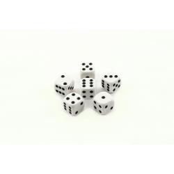 Obrázek Hrací kostky 13x13mm společenská hra 6ks  9x5x2cm