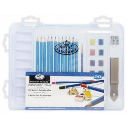 Obrázek ROYAL and LANGNICKEL Sada akvarelových pastelek v plastovém boxu
