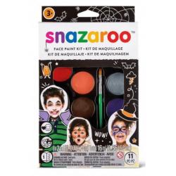 Obrázek Velká sada obličejových barev Halloween