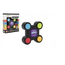 Obrázek Hra paměťová plast 9cm na baterie v krabičce 12,5x14x4cm