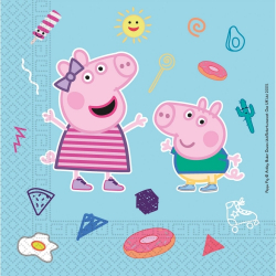 Obrázek Ubrousky papírové Peppa Pig 20 ks ECO - rozložitelný