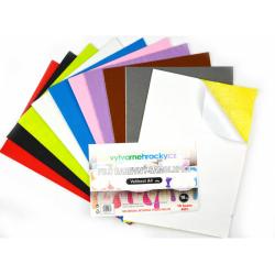 Obrázek Filc - Samolepicí, mix barev, 10 ks, A4, 180 g