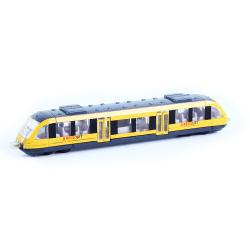 Obrázek vlak žltý RegioJet regionálne kov / plast
