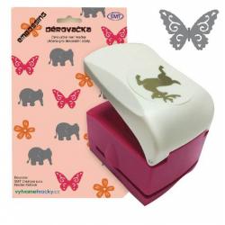 Obrázek Děrovačky s embosing efektem - motýl