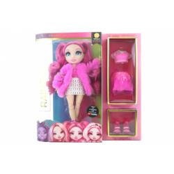 Obrázek Rainbow High Fashion panenka - Stella Monroe (purpurová) TV
