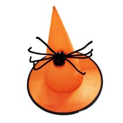 Obrázek Klobouk čarodějnice / Halloween s pavoukem