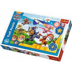 Obrázek Puzzle Tlapková Patrola / Paw Patrol 41x27,5cm 160 dielikov