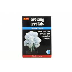 Obrázek Rostoucí krystaly bílý strom