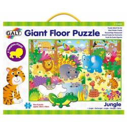 Obrázek Velké podlahové puzzle – zvířátka vdžungli