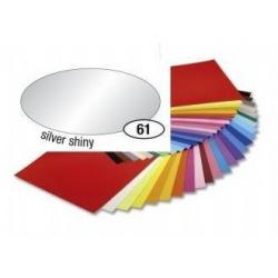 Obrázek Barevný papír 130g A4 - Stříbrný, leskly, 1ks
