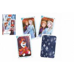 Obrázek Černý Petr Ledové království II/Frozen II společenská hra v papírové krabičce 6x9x1cm 20ks v boxu
