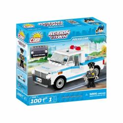 Obrázek Cobi 1546  Action Town Policejní auto 100 kostek