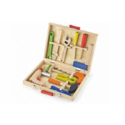 Obrázek Dřevěné nářadí v kufříku