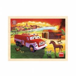 Obrázek Tatra hasiči 20D dřev. Puzzle