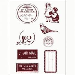 Obrázek Gelová razítka - Poštovní razítko,známky,štítky,...
