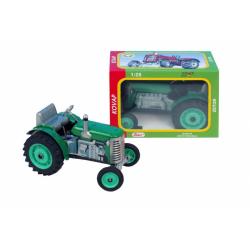 Obrázek Traktor Zetor zelený na klíček kov 14cm 1:25  Kovap