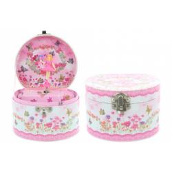 Obrázek Hrací skříňka šperkovnice s vílou
