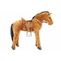 Obrázek Plyš Kůň se sedlem nosnost 100 kg