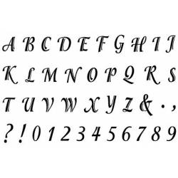 Obrázek Razítka - písmenka tiskací a čísla