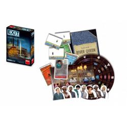 Obrázek Úniková hra Exit: Loupež na Mississippi společenská hra v krabici 13x18x4cm