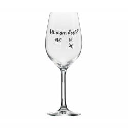 Obrázek ALBI Mega sklenice na víno - Už mám dost