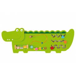 Obrázek Dřevěná nástěnná hra - krokodýl