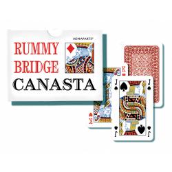 Obrázek Canasta společenská hra - karty 108ks v papírové krabičce