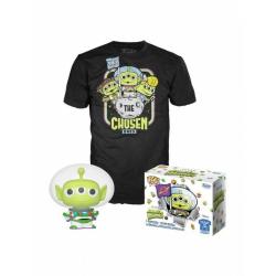 Obrázek Funko POP & Tee: Pixar- Alien As Buzz(GW)- L