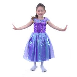 Obrázek Dětský kostým fialová princezna (S)